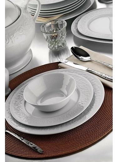 Kütahya Porselen Açelya Yemek Takımı Seti 24 Prç. Renkli